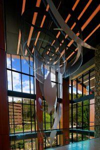 Illuminated Sculpture, Harrah's Cherokee Casino