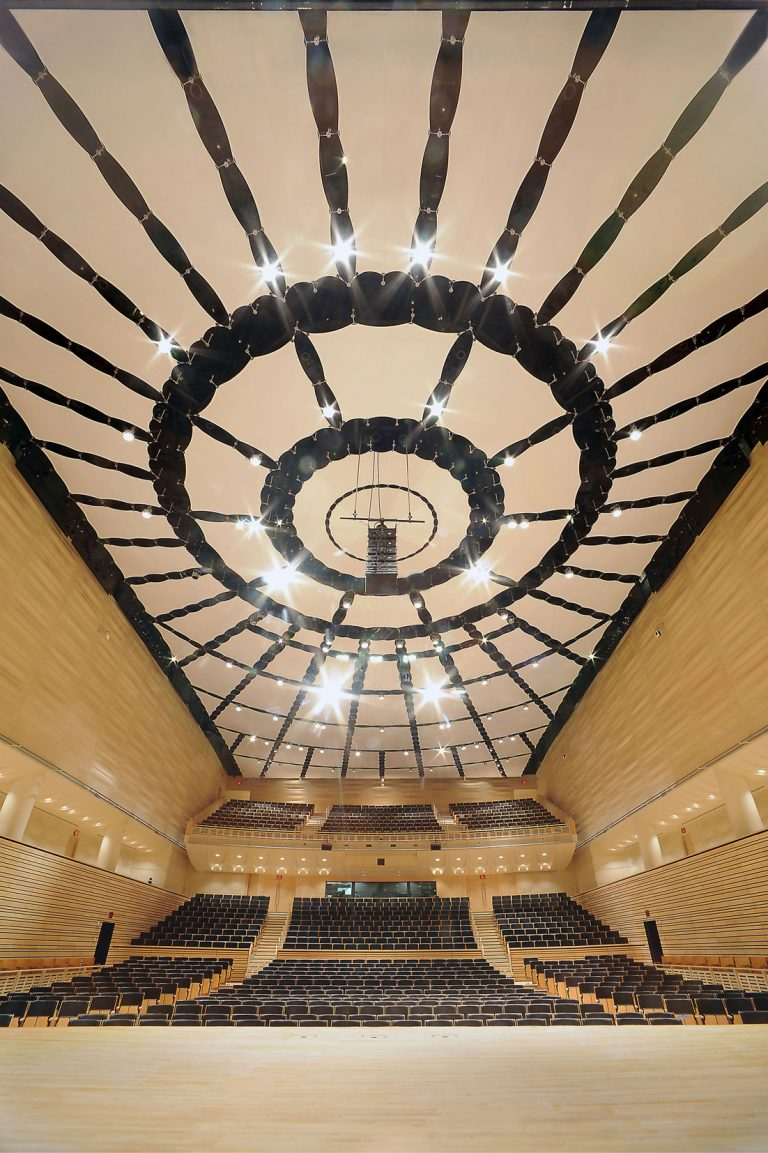 EMPAC Concert Hall - Rensselaer Polytechnic Institute