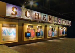 Schenectady, NY Visitor Center Exhibit designed by Adirondack Studios