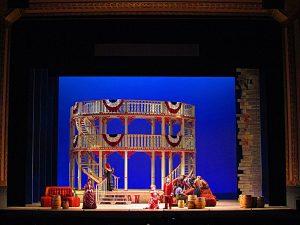 Show Boat set design for Lyric Opera of Chicago