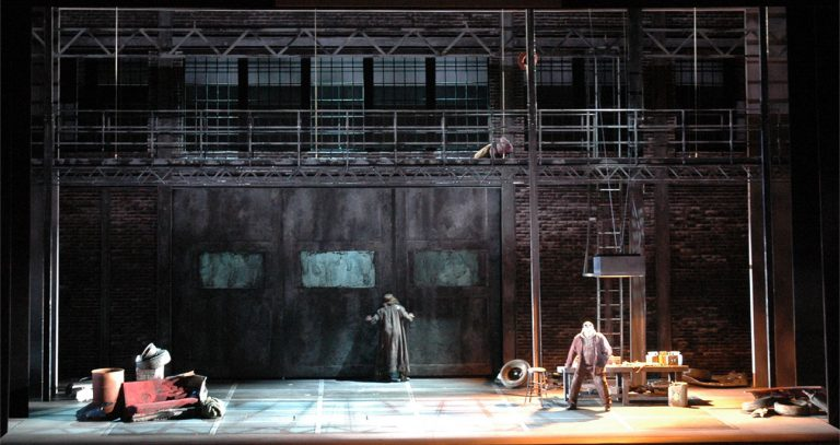 Siegfried scene design created for Washington National Opera