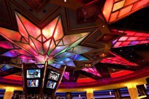 Starburst Ceiling Feature, Mohegan Sun Pocono Downs