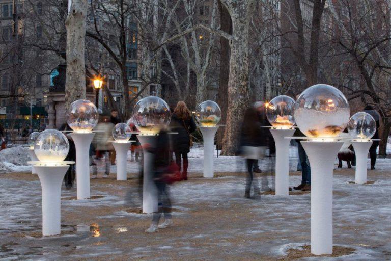 Gazing Globes, Paula Hayes