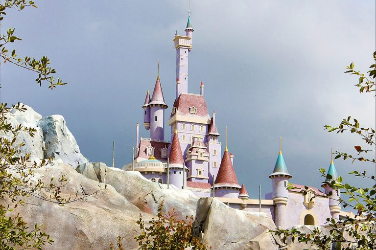 Belle's Castle designed for Walt Disney World
